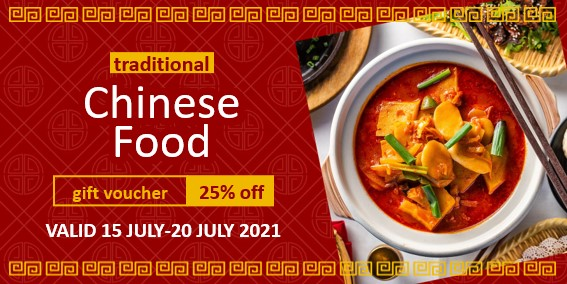 Vouchers & coupons for Chinese restaurants and takeaways