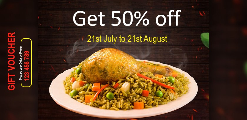 Vouchers and coupons for Indian restaurants and takeaways